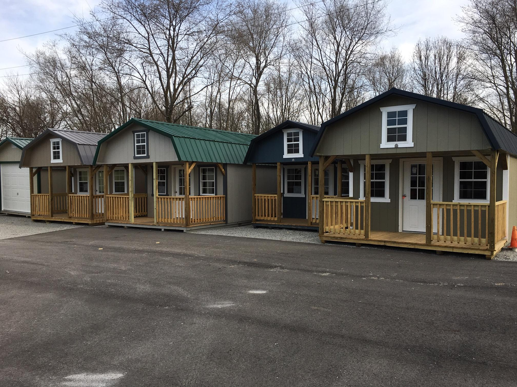 Pre Built Lofted Cabin For Sale Dayton Amp Springfield Oh